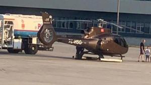 İsmail Küçükkaya'nın da bulunduğu uçağa az kalsın helikopter çarpıyordu