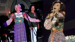 Semiha Yankı, Eurovision'da giydiği elbiseyle sahneye çıktı!