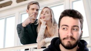 Enes Batur'un videolarını kopyaladığı PewDiePie Marzia Bisogin ile evlendi