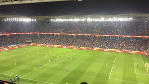 Trabzonspor taraftarlarından Emine Bulut saygısızlığı
