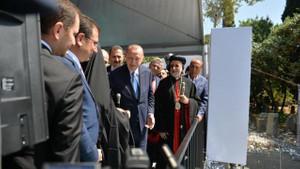 İmamoğlu ve Erdoğan temel atma törenine katıldı