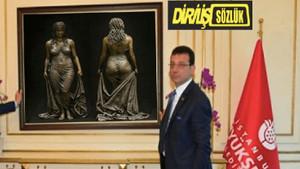 Trollerin Ekrem İmamoğlu'nun odasındaki tablo iddiası yalan çıktı!