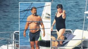 Deniz Seki ile iş insanı İrfan Özçelik'in aşkı belgelendi!