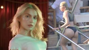 Aleyna Tilki cesur siyah bikinisiyle göz kamaştırdı!