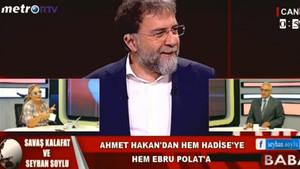 Seyhan Soylu'dan Ahmet Hakan'a: Topun inşaata mı kaçtı?