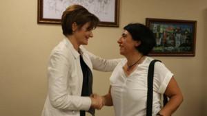 HDP Kadın Meclisi'nden Kaftancıoğlu'nu ziyaret