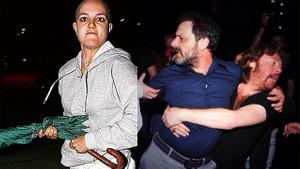 Muhabirlere saldırıp ardından bin pişman olan ünlüler!