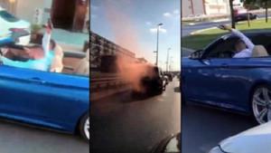 İstanbul'da magandalar dehşet yaşattı! Trafikte ateş açtılar