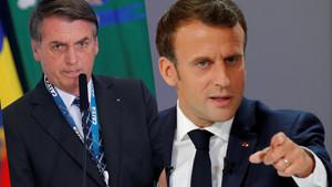 Gerginlik çirkinleşti: Emanuel Macron eşcinsel ve bir ejderhayla yatıyor!