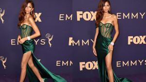 Genç yıldız Zendaya, Emmy'nin en şıkı oldu