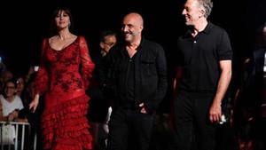 Eski eşler Monica Bellucci ve Vincent Cassel aynı karede