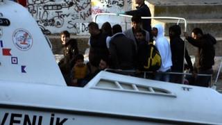 Bodrum açıklarında Pakistanlı 59 mülteci yakaladı