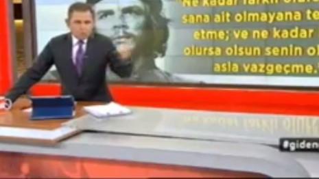 Fatih Portakal'dan Kahraman'a Che tepkisi!
