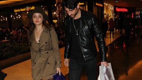 Hande Erçel ve sevgilisi  Mehmet Dinçerler'in Kapadokya tatili