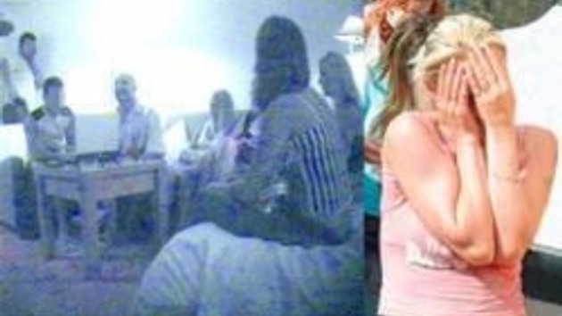 Defile gibi fuhuş gizli kamerada!!! Rus kızları seks kölesi yapan çete nasıl çökertildi?