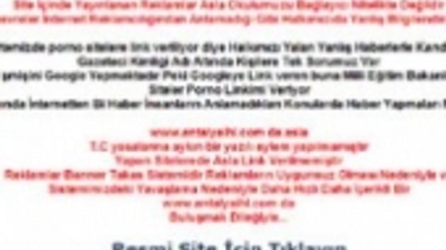 ŞOK!!! İmam Hatip Lisesi'nin internet sitesinde pornonun ne işi var?