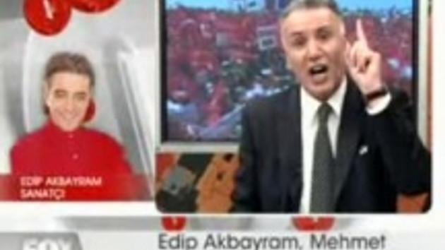 İşte o tartışma!!! Canlı yayında Edip Akbayram ve Mehmet Gül nasıl birbirine girdi? VİDEO