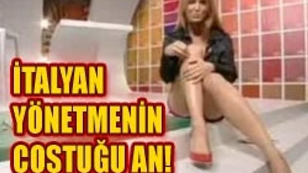 TV'de bacak şov!!! İtalya'nın en güzel kadınının katıldığı TV programında bakın neler oldu? VİDEO