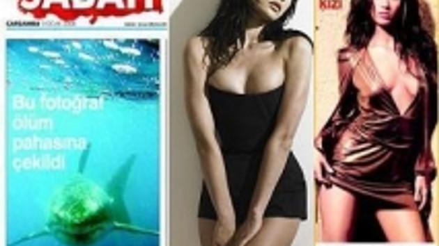 Arka sayfa güzeli Sabah editörlerinin başını mı döndürdü? Megan Fox nasıl Bond kızı oldu?