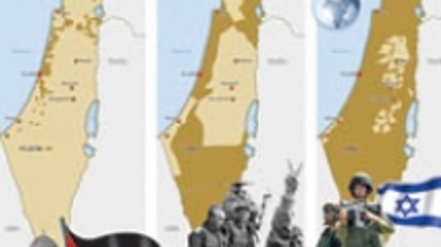 İsrail, Filistin'i böyle yuttu! 60 yılda harita nasıl değişti?