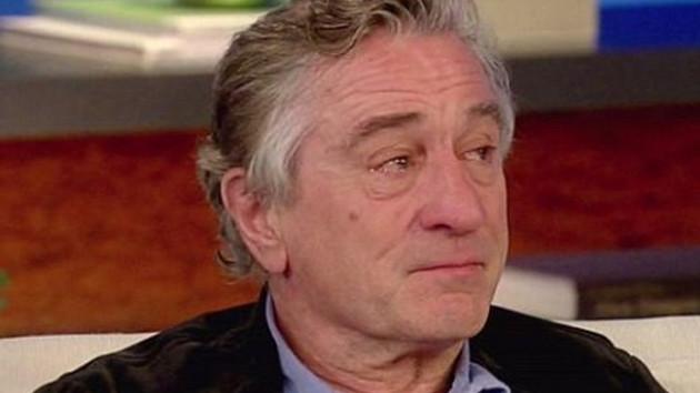 Robert De Niro gözyaşlarına hakim olamadı!