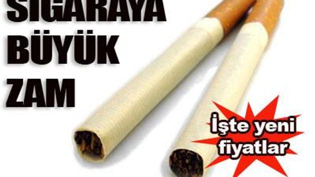 İşte yeni sigara fiyatları! Zamdan sonra son durum!