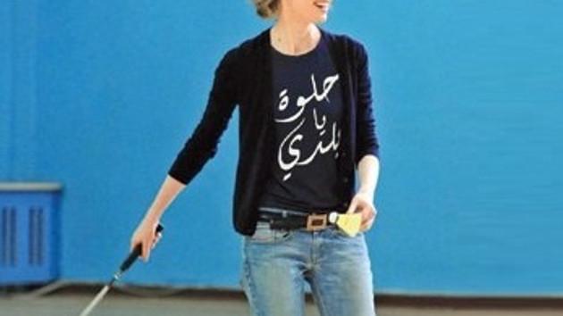 Esma Esad'ın keyfi yerinde! Ne güzel hayat..