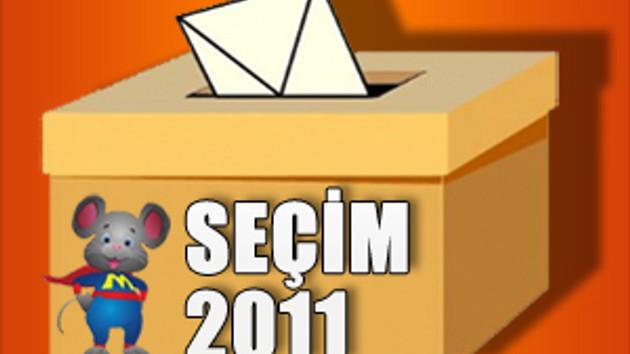 İşte 2011 seçim sonuçları! İl il partilerin oy oranları!