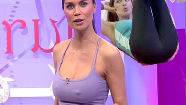 Ebru Şallı artık Beyaz TV'de pilates yapacak!