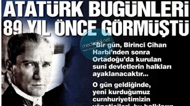 Sözcü'nün Atatürk manşeti Erdoğan'ı çok kızdıracak!