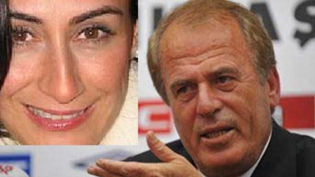 Mustafa Denizli ve Evin Elçi, yıldırım nikahıyla evlendi!