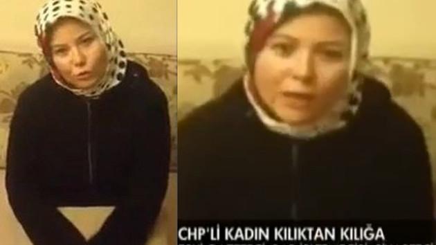 CHP çakma türbanlıyı disipline verdi!