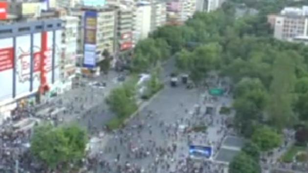 Gezi Parkı olayları polis kamerasında!