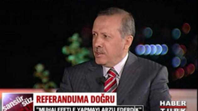 Başbakan Habertürk'te! Mehmet Akif'in hangi şiirini okudu?