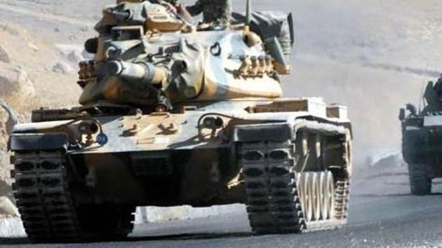 Türk tankları Haftanin kampında! 400 PKK'lı kuşatıldı!