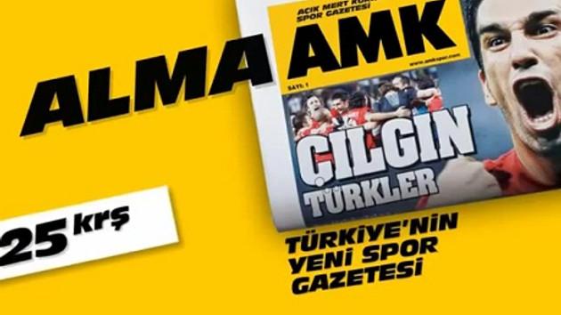 Bu nasıl gazete AMK? Adı da reklam filmi de çok tartışılır!