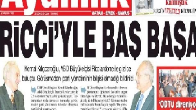 Aydınlık Gazetesi Kılıçdaroğlu'nu neden hedef aldı?