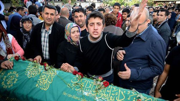 Ümraniye'deki cenazede PKK tepkisi