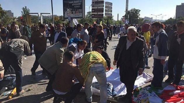 Ankara'daki patlamanın en net görüntüleri!