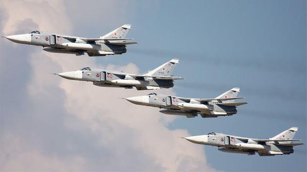 Rus uçakları Azez'i yeniden bombaladı: 7 ölü!