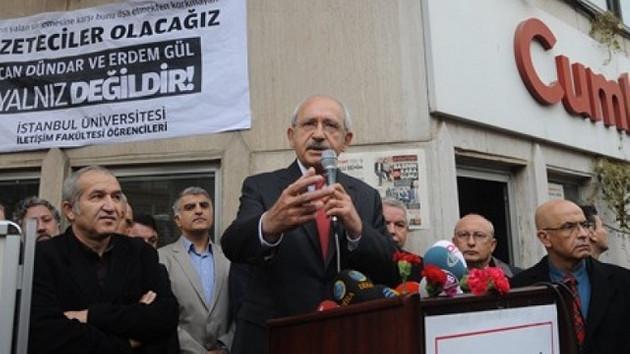 Kılıçdaroğlu'ndan Cumhuriyet'e ziyaret
