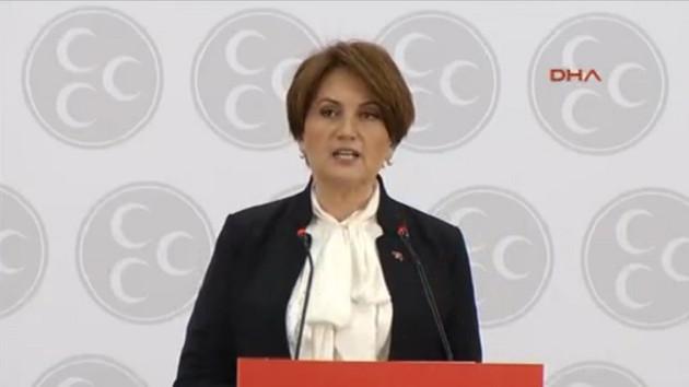 MHP'de Meral Akşener adaylığını açıklıyor!