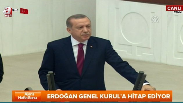 Erdoğan'dan Meclis açılışında önemli açıklamalar