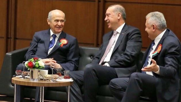 Ankara Kulisi: Bahçeli başkan yardımcılığı ve denetimli başkanlık talep etti