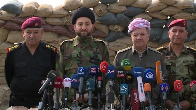 Barzani: Türkiye'nin desteğini istiyoruz ama Bağdat'ın onayıyla