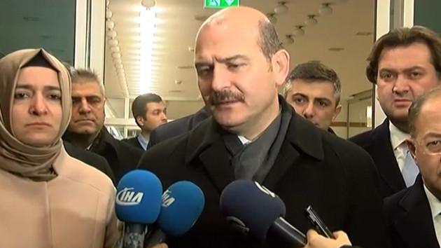 İçişleri Bakanı Soylu: Birinin canlı bomba olduğu değerlendiriliyor