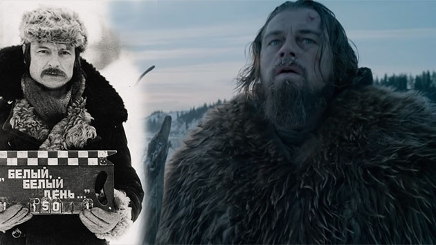 The Revenant ve Rus Yönetmen Andrei Tarkovsky filmleri arasındaki benzer 17 sahne