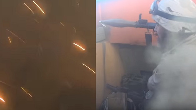 Kask kamerasından IŞİD teröristinin ölüm anı