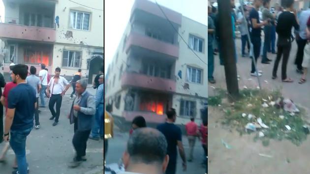 Son dakika haberleri... Kilis'te IŞİD roketi evi vurdu! 1 ölü, 2 yaralı.. Dehşet anları