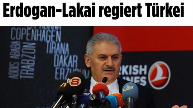 Alman Bild gazetesinden Binali Yıldırım'a hakaret: Erdoğan'ın uşağı...